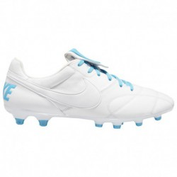 Nike The Premier FG Boots Blue Nike The Premier II FG - Men's - Soccer - Shoes - White/Lt Current Blue/White White/Lt Current B