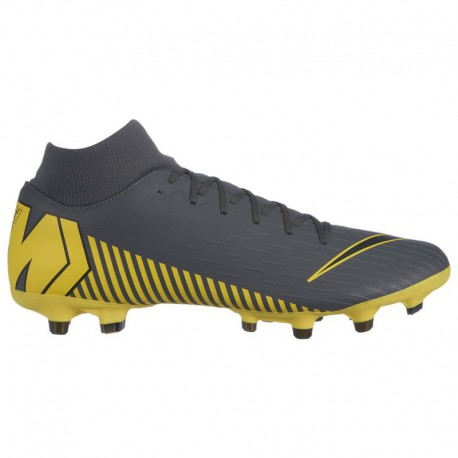Nike Mercurial Superfly Yellow And Grey Nike Mercurial Superfly 6 Academy MG - Men's - Soccer - Shoes - Dark Grey/Black/Optic Y
