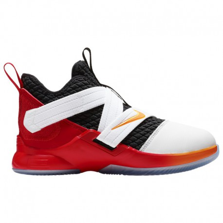 Lebron James And Nike Deal Nike LeBron Soldier XII - Boys' Preschool - Basketball - Shoes - James, Lebron - White/Laser Orange/