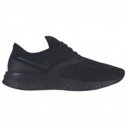 Nike Odyssey React Flyknit 2 Black Nike Odyssey React Flyknit 2 - Women's - Running - Shoes - Black/Black/White | Width - B - M