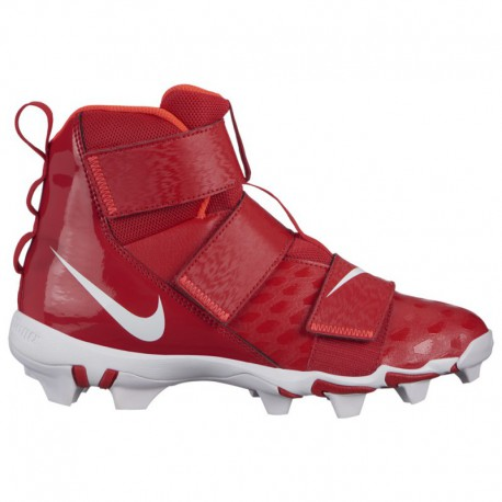 Nike Force Savage Shark 2 Red Nike Force Savage 2 Shark Bg - Boys' Grade School - Football - Shoes - University Red/White/Brigh
