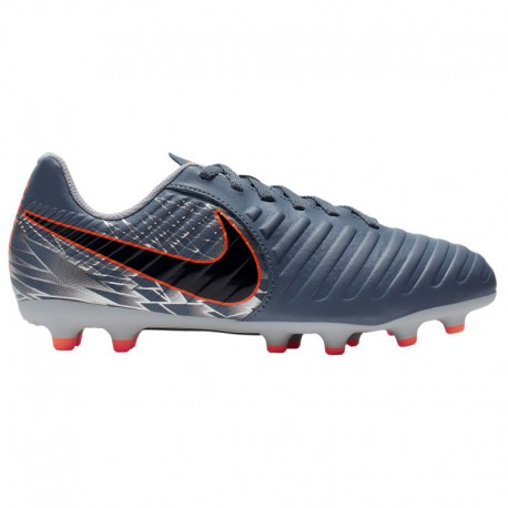 Nike Tiempo Legend V Grey Nike Tiempo Legend 7 Club FG - Boys' Grade School - Soccer - Shoes - Armory Blue/Black/Wolf Grey Armo