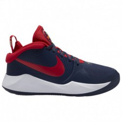 nike hustle hart 2 nike hustle hart 1 nike hustle d 9 boys grade school basketball shoes midnight navy university red white mid