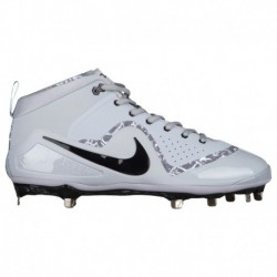 Nike Force Zoom Trout Nike Force Zoom Trout 4 - Men's - Baseball - Shoes - Trout, Mike - Wolf Grey/Black/White/Wolf Grey Trout,